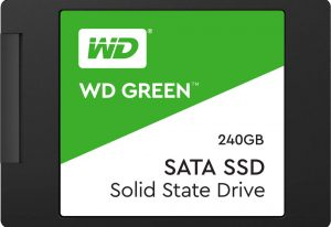 WD SSD Green, one of the affordable SSD right now.