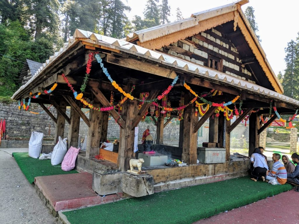 this is the outlook of Kamrunaag temple.