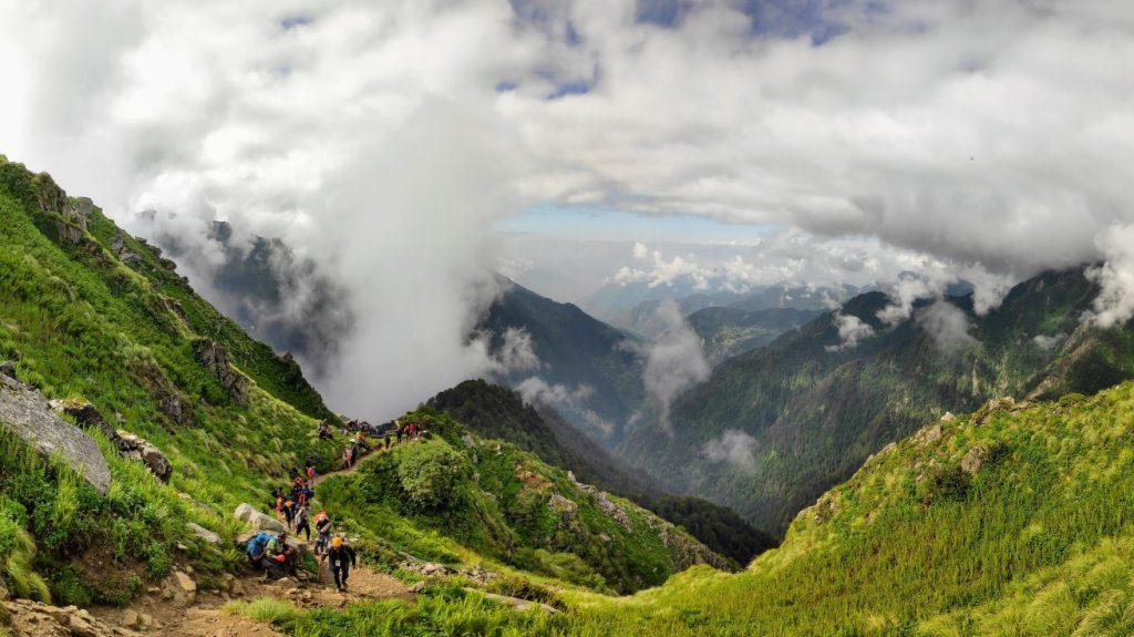 A BEAUTIFUL VIEW FROM KALI TOP